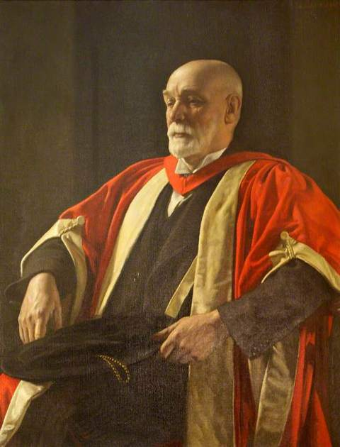 A. H. Trow by Harold Knight (1874–1961)