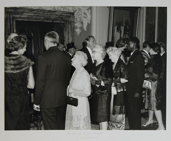 Hetty Edwards at the Cardiff Naturalists' Society Centenary Celebrations in 1967