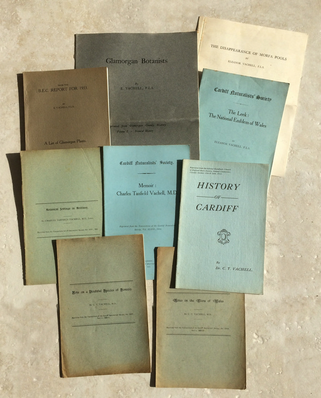 Selection of C T Vatchell E Vachell publications - many published by the Society