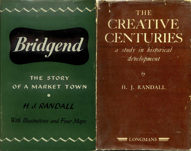 Selection of HJ Randall Book Covers