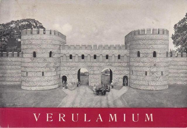 Verulanium guide book written by Ilid Anthony