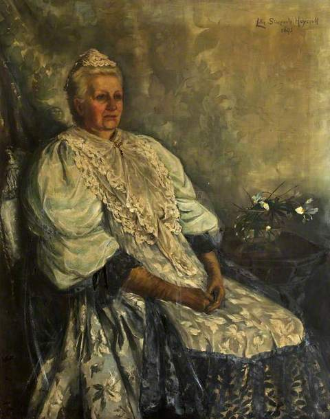 Lady Aberdare by Lillie Stacpoole Haycraft (1852-1916) with kind permission of Cardiff University