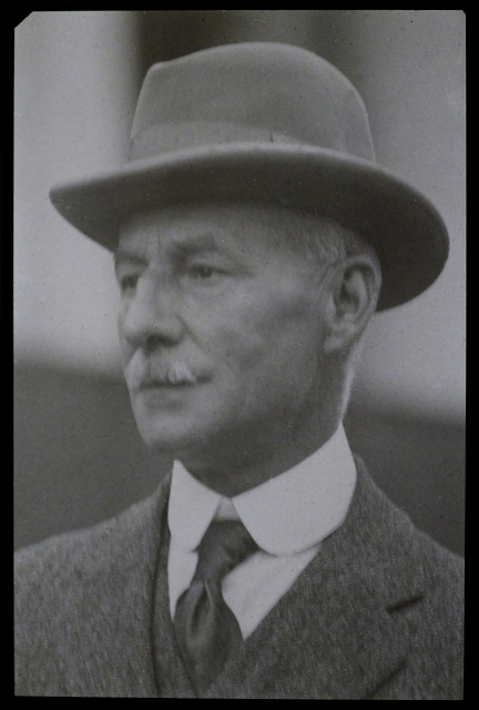 T W Proger photographed on 3rd October 1921 from the society archives