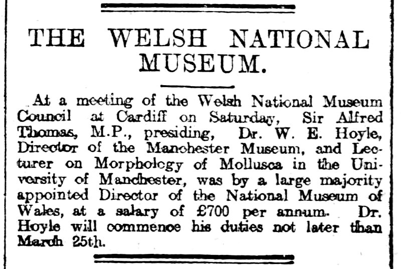 The Welsh Coast Pioneer and Review for North Cambria 10th December 1908
