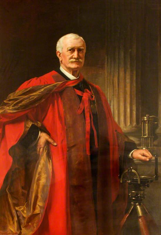 Sir William Galloway (1840�27) by Margaret Lindsay Williams (1888�60)