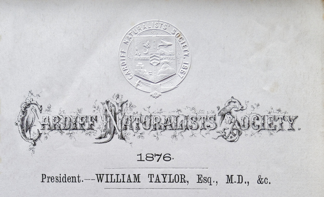 Poster from William Taylors time as President
